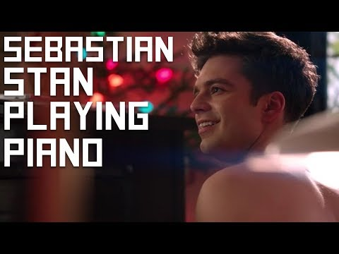 "Sebastian Stan Playing Piano in ""Political Animals"" (as TJ Hammond)"