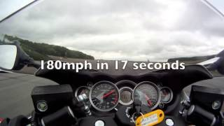 6. 2013 Suzuki Hayabusa GSX1300R ABS top speed run