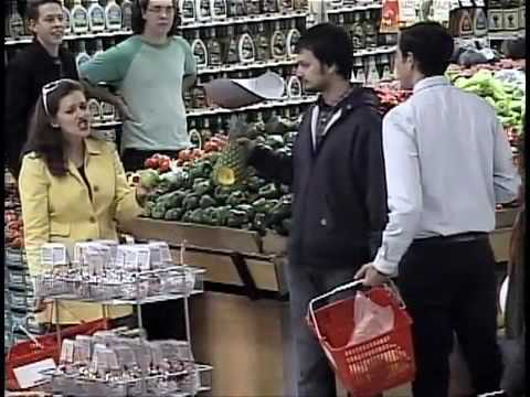 Funny Impromptu Grocery Store Musical