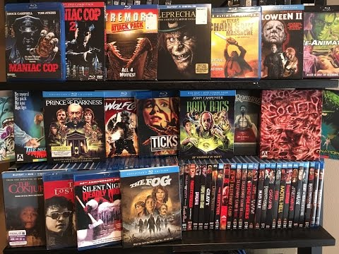 My ENTIRE Horror Blu Ray Movie Collection