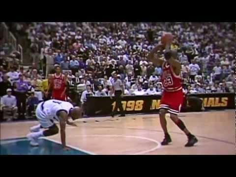 NBA籃球之神-麥可喬丹一生之中,最經典的50球!