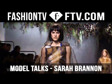 Sarah Brannon tells us what she really thinks! | Model Talks | FashionTV