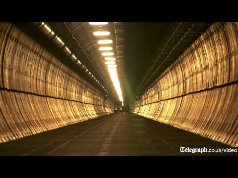 tunnel - The Telegraph gets exclusive Channel Tunnel access to see how evacuations are done and what it is like in the middle of the Channel where Britain and France ...