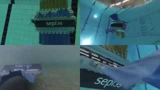 """Sepios – Robot lặn bằng """"vây"""", ý tưởng từ cá mực"""