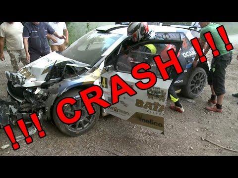 ENIPRO 10. Rally Lubeník 2018 - Melichárek Crash