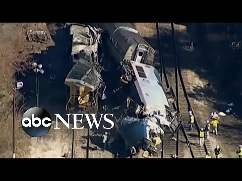 Amtrak train breaks apart on trip to Boston