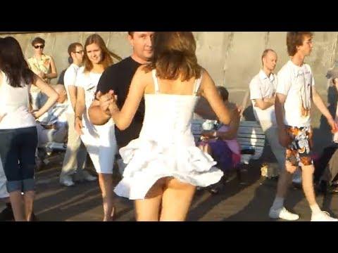 Sweet Fanny. Skirt Fail. Dancing