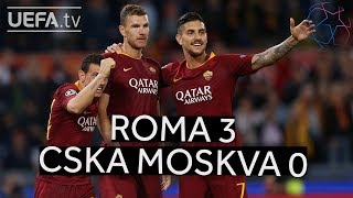 Download Video ROMA 3-0 CSKA MOSKVA #UCL HIGHLIGHTS MP3 3GP MP4