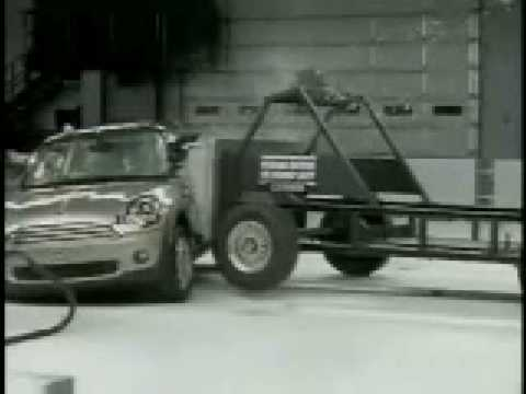 Crash Test Videos: 2009 Mini Cooper