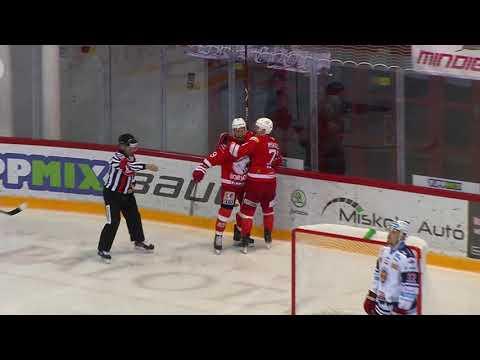26. forduló DVTK Jegesmedvék - HKM Zvolen 4-0