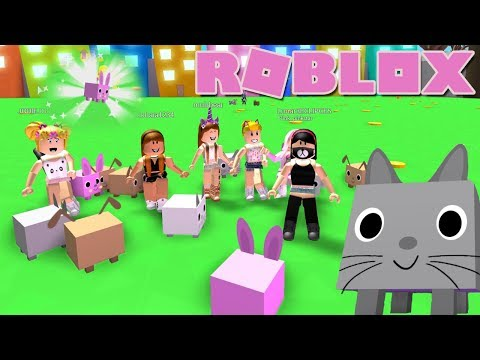 Roblox: NEW!  Pet Simulator! This Game Is So Cute!