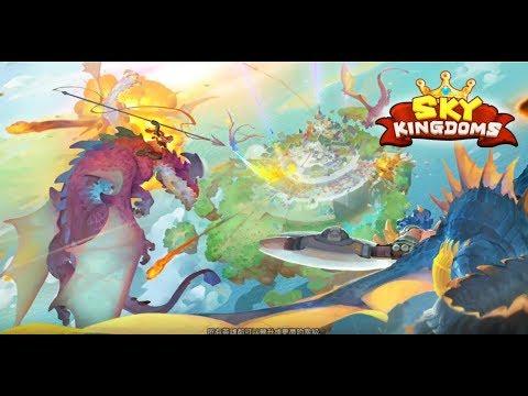《天空王國 Sky Kingdoms》手機遊戲玩法與攻略教學!