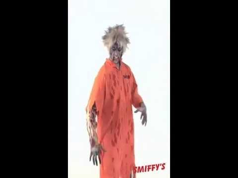 Déguisement de prisonnier zombie
