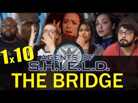 Agents Of Shield - 1x10 The Bridge - Group Reaction