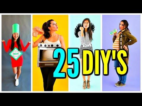 25 DIY Halloween Costume Ideas! Funny Costumes