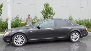 Video Here's Why the Maybach 57S Has Lost $300,000 in Value Over 10 Years MP3, 3GP, MP4, WEBM, AVI, FLV Januari 2019