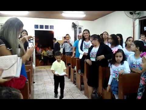 Entrada, festa das crianças em Mucurici 26/11/2016