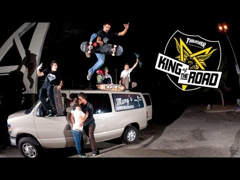 0 THRASHER: King of the Road 2011  With Lakai Part 2 | Video