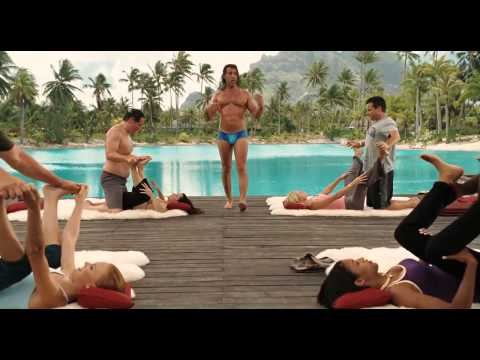 Couple's Retreat - Yoga Lesson Scene (Encouragement)