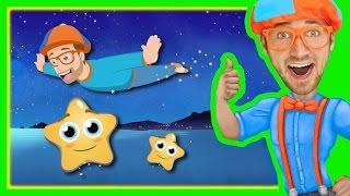 Twinkle Twinkle Little Star by Blippi   Bedtime Songs for Kids