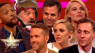 Video THE DARK NORTON RISES | Best Superhero Moments on The Graham Norton Show MP3, 3GP, MP4, WEBM, AVI, FLV September 2019