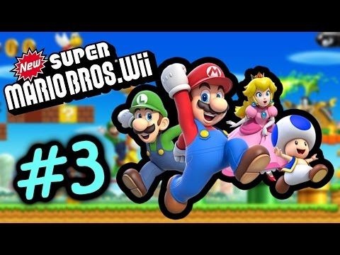 媽呀 咁快卡關咩 featuring 越死越多命 #3 World 2.2 新超級瑪利歐兄弟 Super Mario Bro Wii Gameplay Walkthrough
