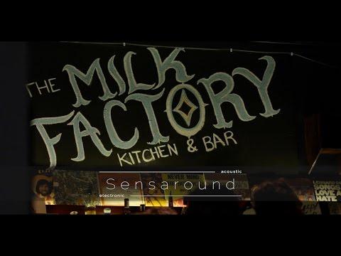 Sensaround featuring Alister Spence, Raymond Macdonald and Shoeb Ahmad at The Milk Factory online metal music video by SENSAROUND