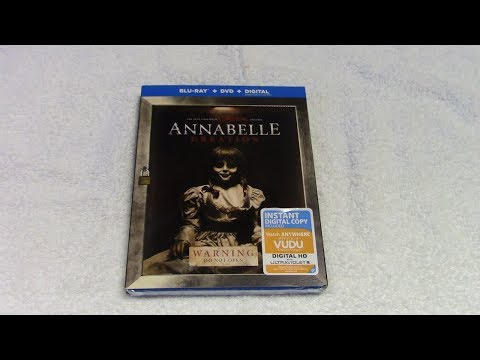 Annabelle: Creation Blu ray Unboxing