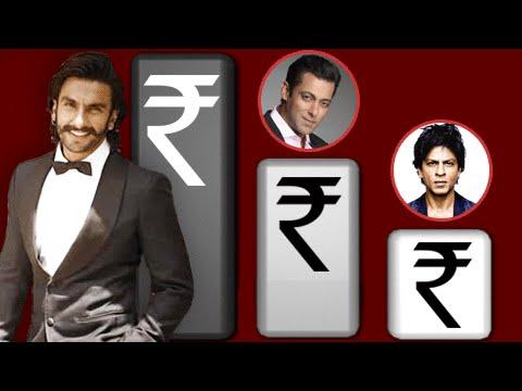 OMG! Ranveer Singh Beats Salman Khan and Shahrukh