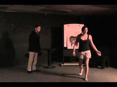 Intro to Theatre Scenes: Jill de Koning & Connor Lavoie, I Am Yours by Judith Thompson