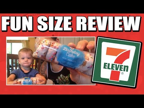 Fun Size Review: 7-Eleven's Birthday Cake Mini Donuts