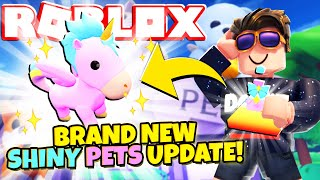 BRAND NEW SHINY PETS UPDATE in Overlook Bay! (Roblox)
