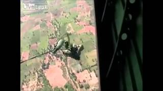 Thailand Paratrooper's Fatal Accident