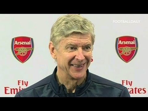 Video: Wenger: 'We are not considering a move for Berbatov'
