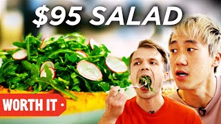 Video $11 Salad Vs. $95 Salad MP3, 3GP, MP4, WEBM, AVI, FLV Agustus 2019
