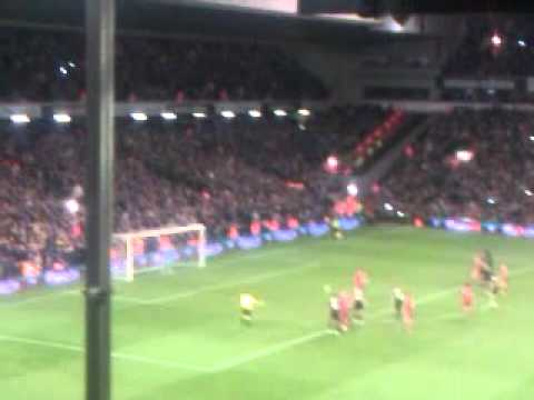 Liverpool Vs Oldham 6/1/2012 - Steven Gerrard Penalty