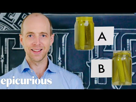 Pickle Expert Guesses Cheap vs Expensive Pickles
