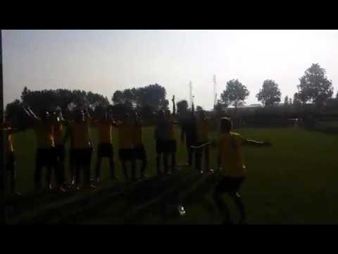 Crufc - ES Guînes 0-1 (Joie victoire)