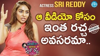 Video Actress Sri Reddy Exclusive Interview || Saradaga With Swetha Reddy #7 MP3, 3GP, MP4, WEBM, AVI, FLV Maret 2018