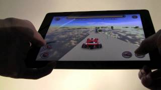 Jet Car Stunts iPad Update Hands on