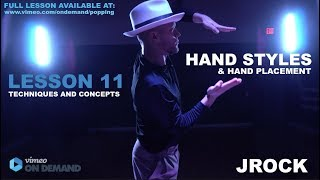 JRock – Hand Styles and Hand Placement (PREVIEW):LESSON 11