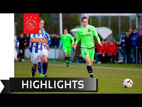 Samenvatting SC Heerenveen - Ajax Vrouwen