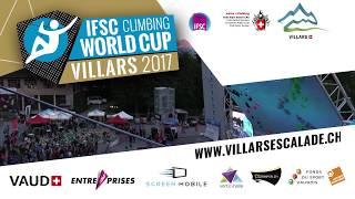 Upcoming Event Trailer - IFSC Climbing World Cup Villars 2017 - LEAD & SPEED by International Federation of Sport Climbing