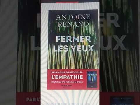 Coup de coeur : Fermer les yeux, Antoine Renand