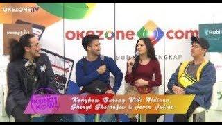 Vidi, Sheryl & Jevin Berkolaborasi ? Ini Dia Ceritanya! | Kongkow Okezone Part. (1/4)