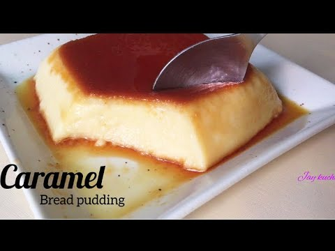 CARAMEL BREAD PUDDING | NO OVEN ! NO STEAMER!