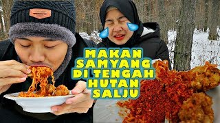Video PUEDES VS DINGIN❗️MAKAN SAMYANG DI SUHU -15°C MP3, 3GP, MP4, WEBM, AVI, FLV Februari 2019