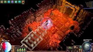 Path of Exile: Atziri Run [Hardcore League] CI Dual Strike Shadow