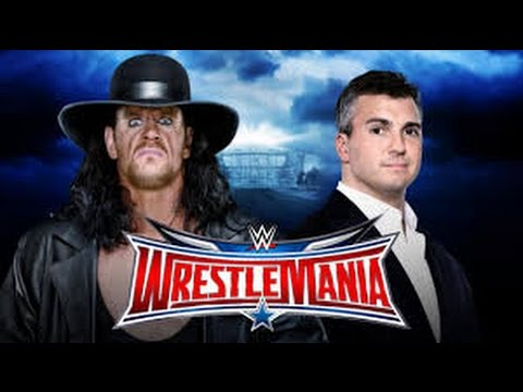 Wrestlemania 32  Undertaker VS Shane McMahon   HEll in a Cell   Full Match