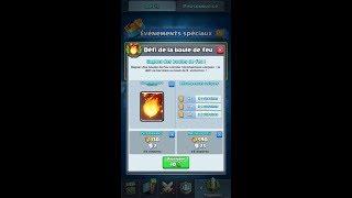 Clash Royale FR défi de la boule de feu